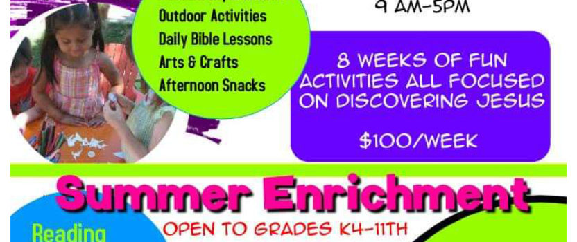 Victory Academy Summer Camp and Enrollment | 2019